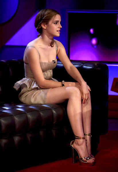 Emma Watson Is a Delicate Balance of Sweet and Sexy