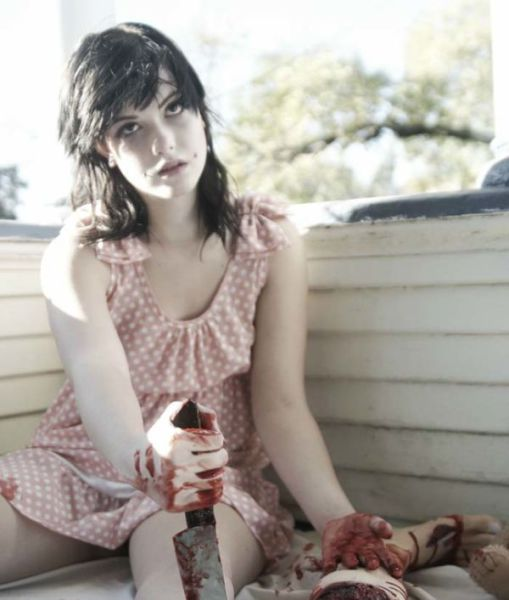 A Halloween Photo Shoot with a Gory Twist