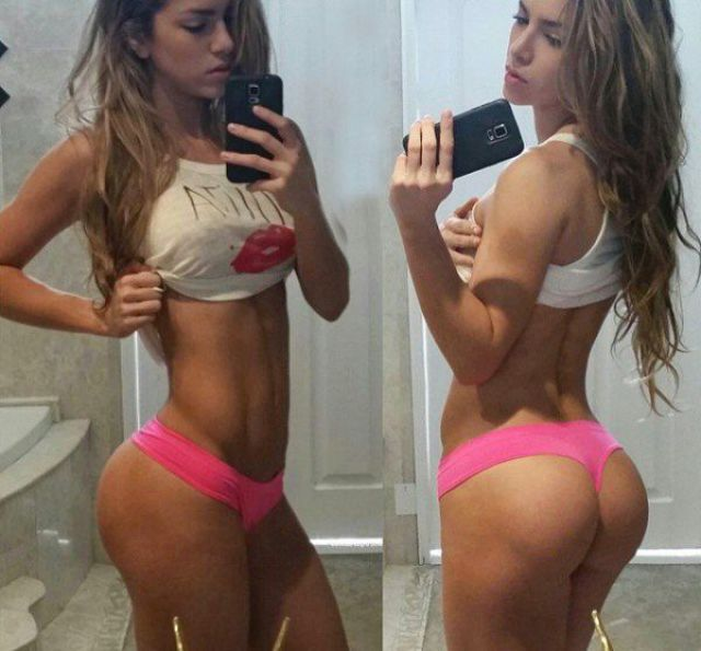 A Sexy Colombian Fitness Model