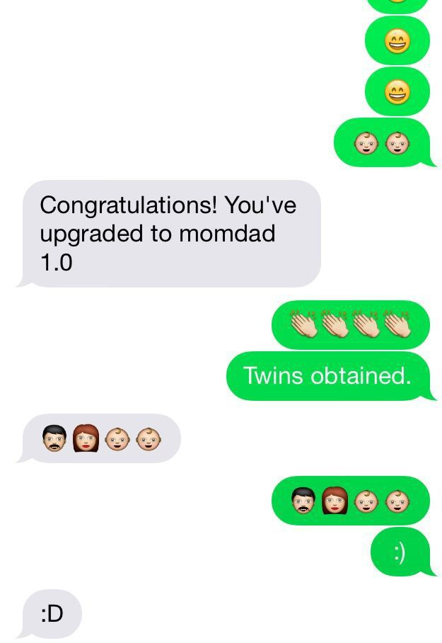 How Babies Are Born: A Texting Story