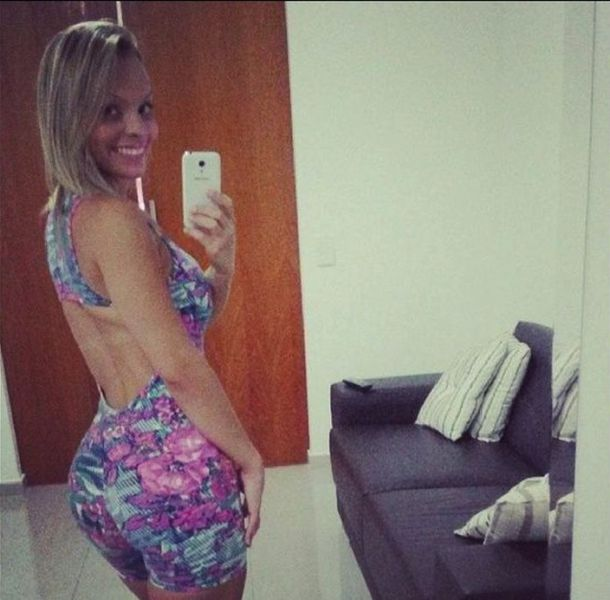 The 2014 Winner of Miss BumBum Brasil