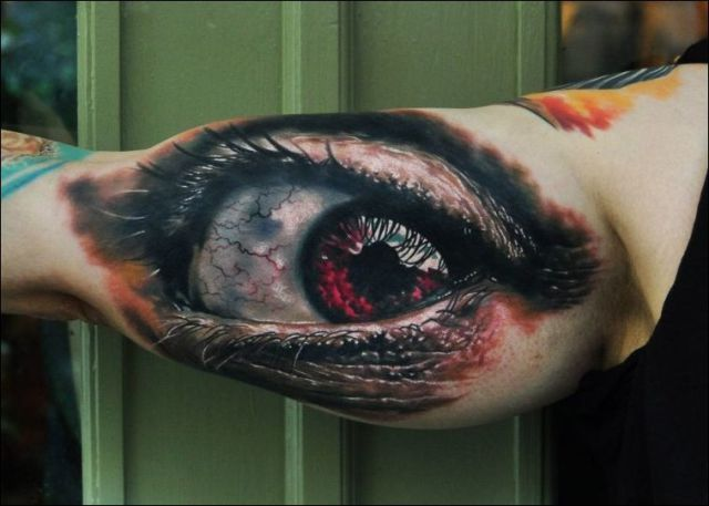 Mind Blowing 3D Tattoos