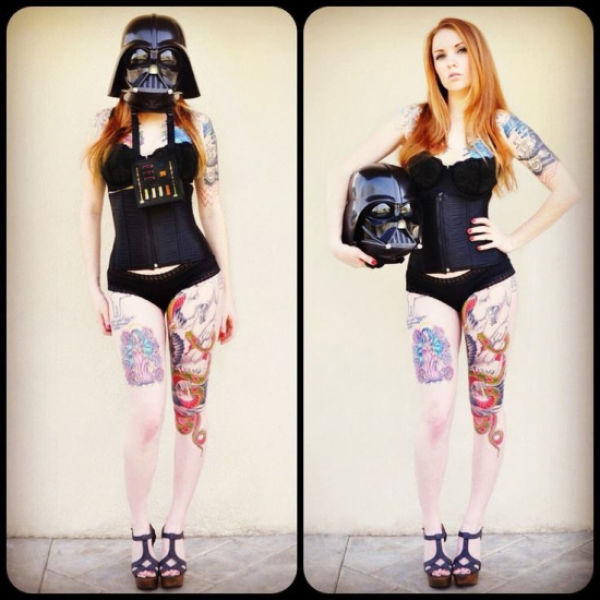 The Force Is Strong With These Geekily Gorgeous Ladies
