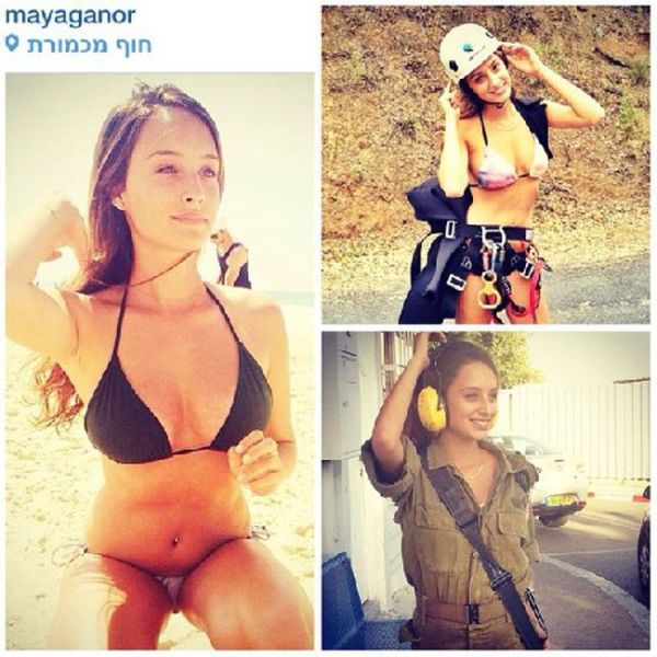 The Sexy Girls of the Israeli Army