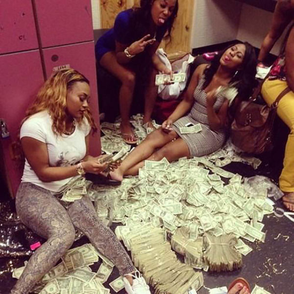 Strippers Who Got Some Money