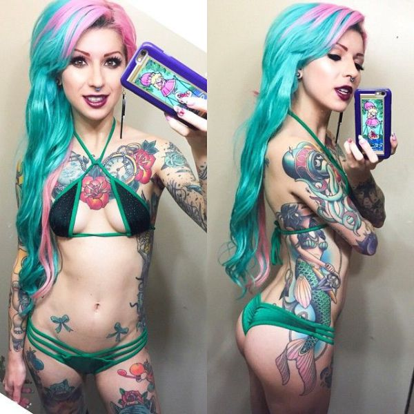 Tattooed Chicks with a Lot of Sex Appeal