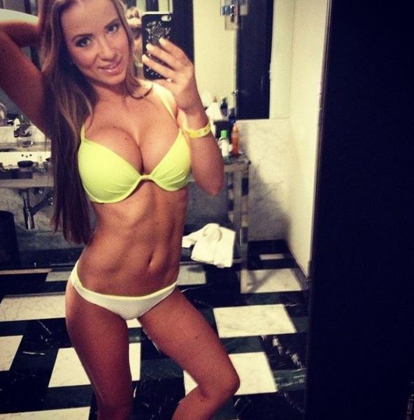 A Latvian Fitness Model That Is Every Man's Dream Girl