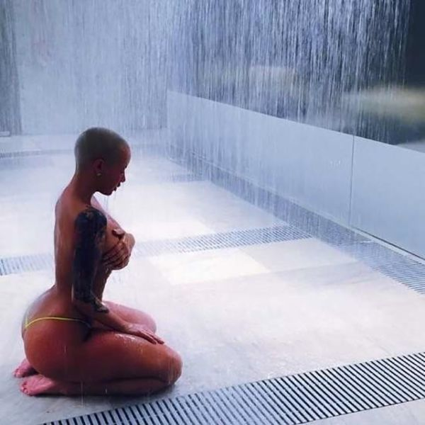 Amber Rose Sizzles in Sexy Shots