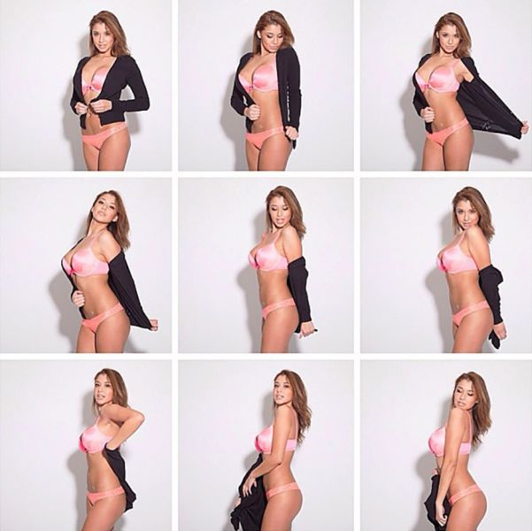 Sexy Girls Get Undressed for the Camera