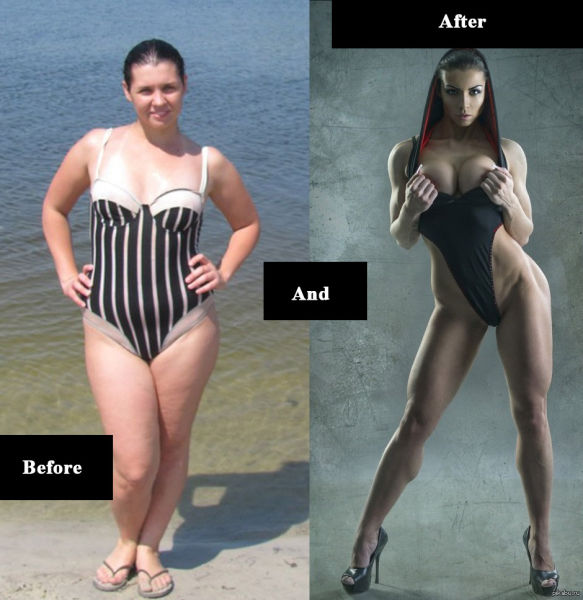 Remarkable Transformation of a Girl From Russia
