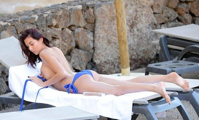 Chloe Goodman Sizzles in Sexy Swimwear on the Canary Islands