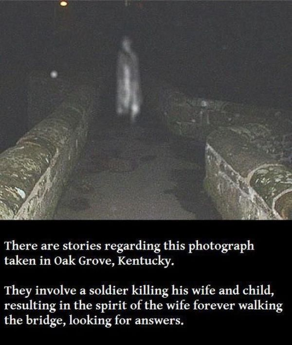 Creepy Photos of a Few Really Scary Things