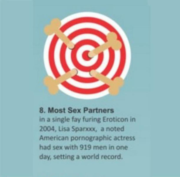Sex Related World Records That You Might Want to Challenge Next