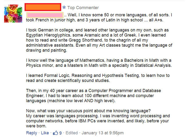 When Dumb People Try to Sound Intelligent It Just Goes Horribly Wrong