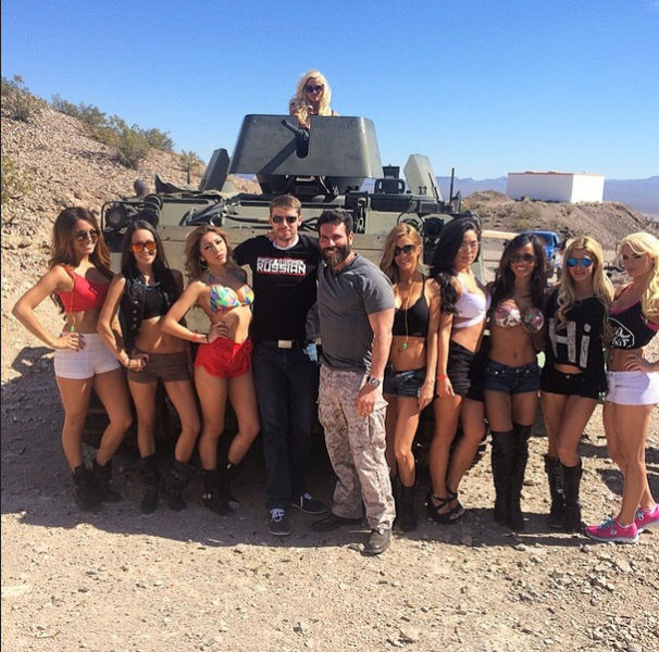 Dan Bilzerian Shares His Awesome Luxury Life on Instagram