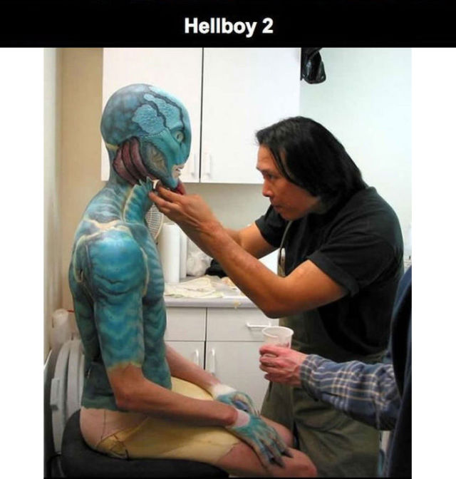 Movie Makeup Brings All Sorts of Crazy Characters to Life