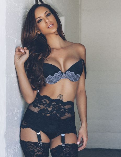 Lingerie Hugs These Girls in All the Right Place