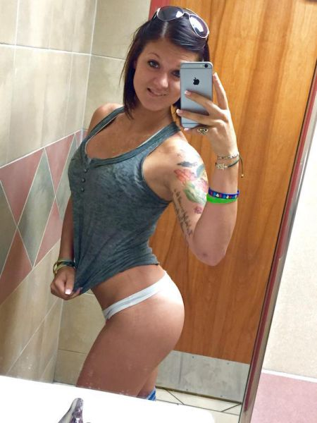 Sexy Girls That Use a Few Tugs to Show a Tantalizing Taste of Skin