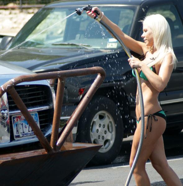 The Best Car Washes Always Get a Little Wet 'n Wild