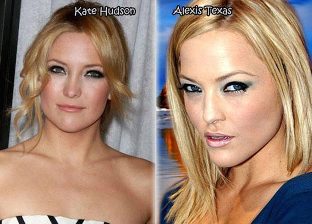 Well Known Female Stars Who Have Uncanny Porn Star Lookalikes