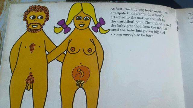 A Vulgar Kids Book from 1975