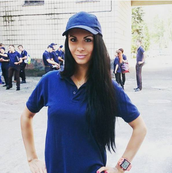This Sexy Lady Is the New Star Officer in the New Ukranian Police Force