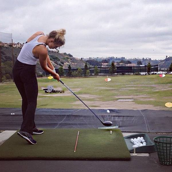 This Girl Makes Golfing Look Sexy