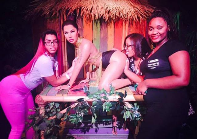 Nicki Minaj's Inappropriate Wax Figure Creates Quite a Stir with Visitors
