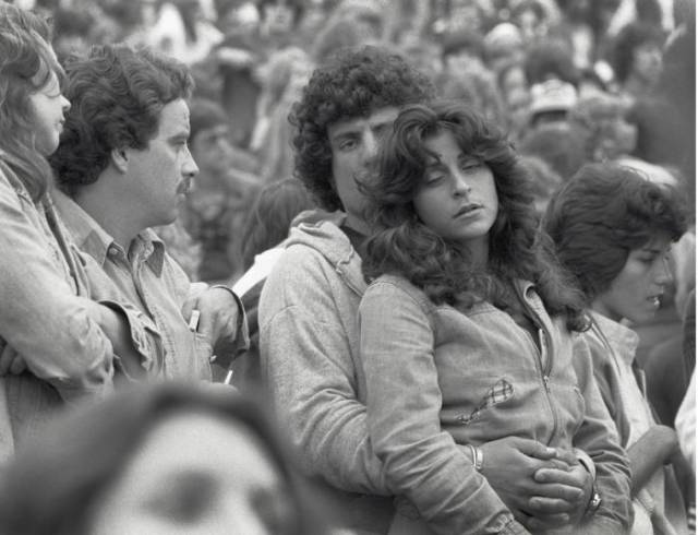 Cool Vintage Snaps of a 1978 Rolling Stones Concert
