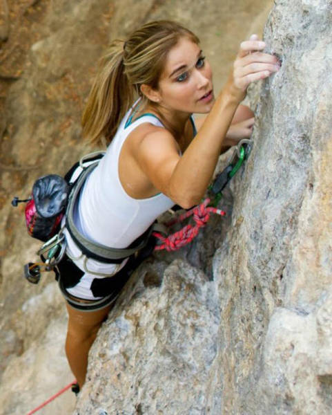 Hot Rock Climbing Girls That Take Sexiness to New Heights