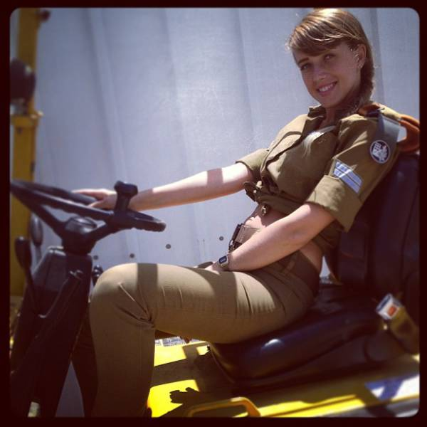 Israeli Army Girls That Are Real Beauties in Uniform