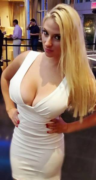 This Gorgeous MMA Fighter's Boobs Are So Big They've Pushed Her Up a Weight Class