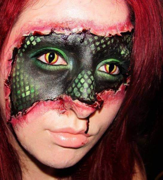 Realistic Halloween Makeup That Is Totally Terrifying