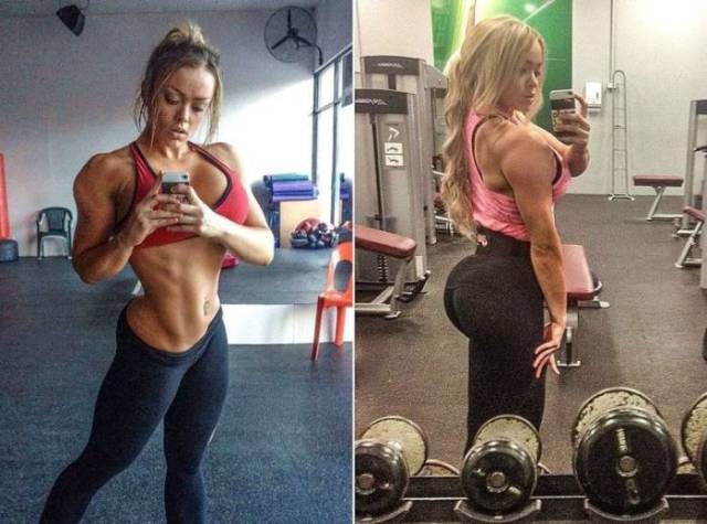 This Girl Is a Muscle Machine