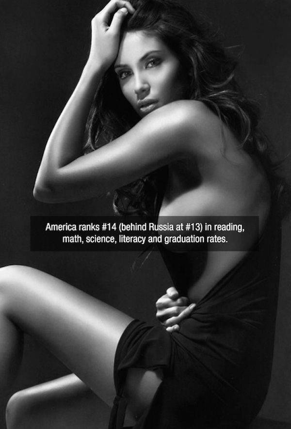 Gorgeous Girls Serve Up a Side of Fast Facts to Entertain Your Brain