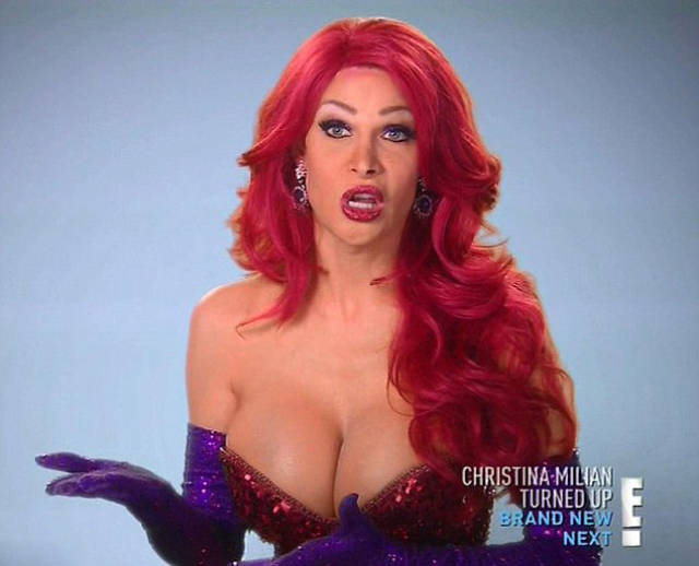 This Transgender Woman Has Spent a Fortune to Look Like Jessica Rabbit