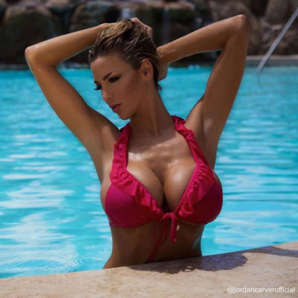 Jordan Carver Is One Big Breasted Lady