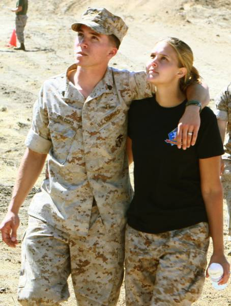 Marine Wives Try Being Their Husbands for a Day and Find Out How Tough It Really Is