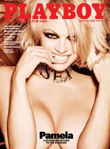 Pamela Anderson Is the Last Nude Covergirl Playboy Will Ever Have