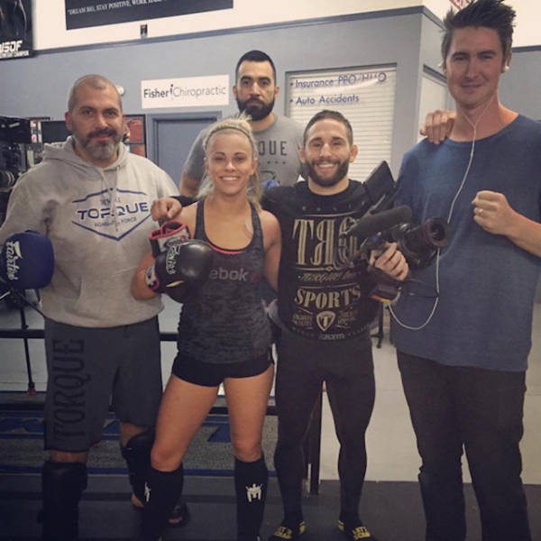 Blonde Bombshell Leaves the Modelling World to Pursue a Career as a UFC Fighter