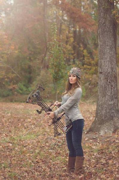 Hot Girls Show Their Fighting Side with a Little Bow and Arrow Action
