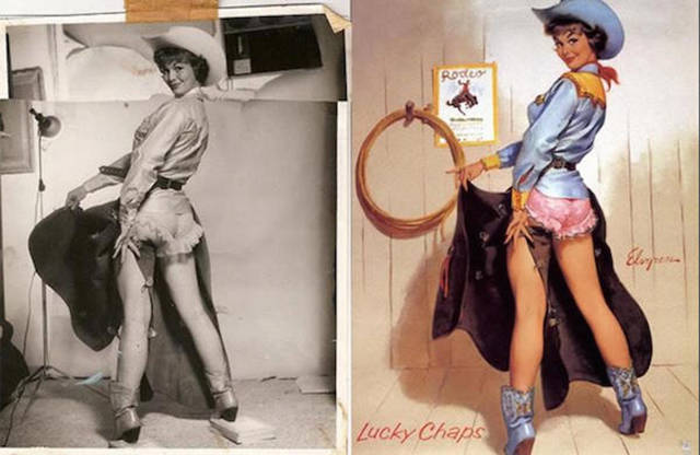 The Real Ladies Who Inspired Popular Pinup Pics