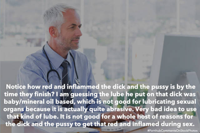 Stock Photos Suddenly Look So Much Different When You Add Pornhub Comments to Them