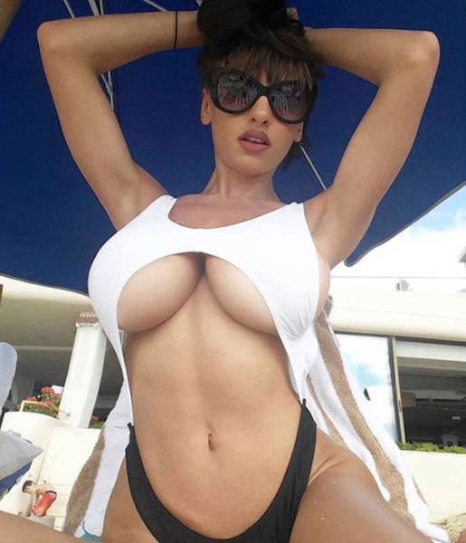 It Is Always a Good Time to Get a Dose of the Underboob