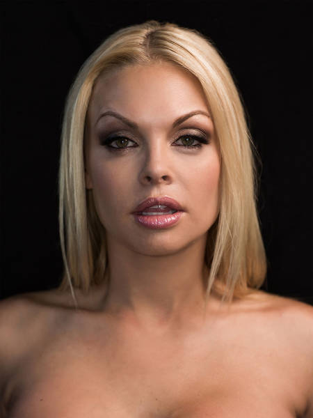 Portraits of Porn Stars in Artistic Style