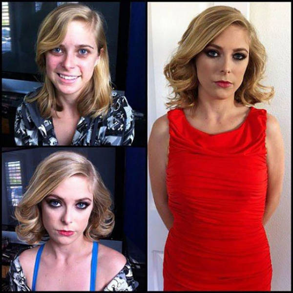 Fortunately Porn Stars Get Makeup Before Filming