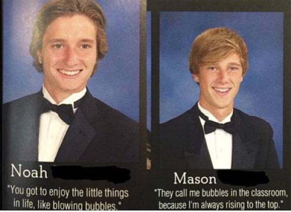 These Senior Yearbook Quotes Are Simply The Best