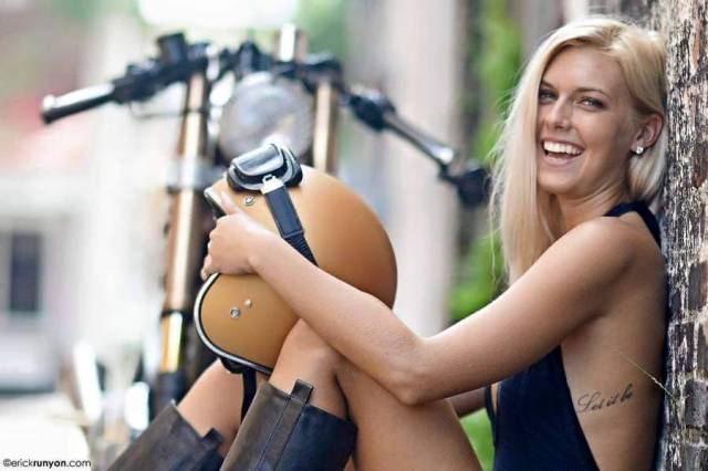 Girls And Bikes: Can It Get Any Hotter?