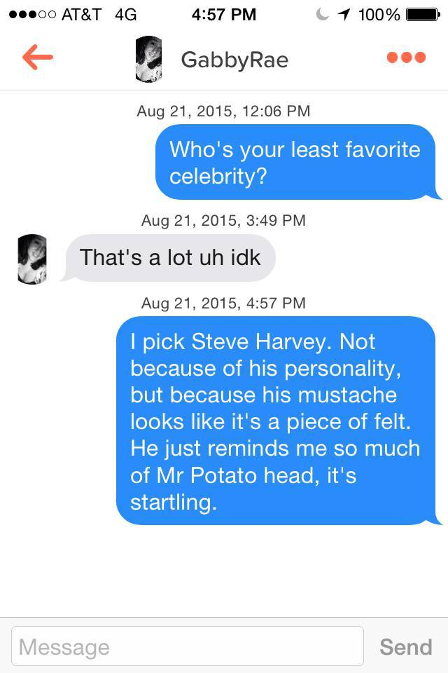 This Guy Knows How To Talk To Girls On Tinder