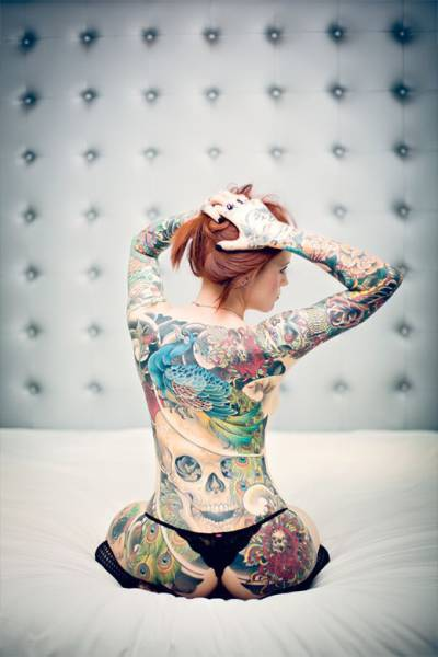 Girls Who Make Tattoos Look Hot